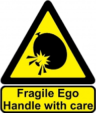 the male ego is dangerous. Never hurt it