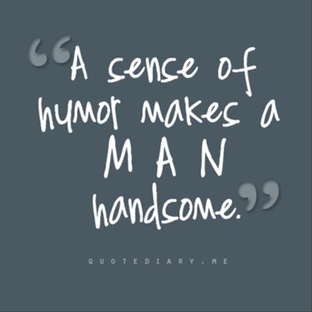 men can express women with their sense of humor