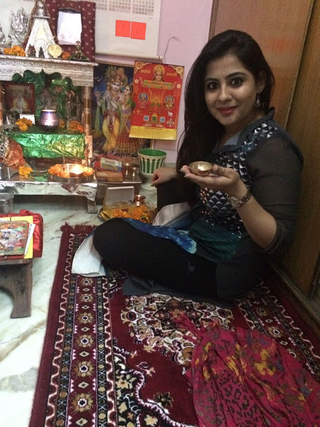 Ritika Bhateja Diwali Celebrations 2016