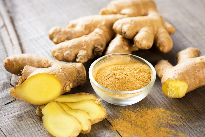 Ginger Helps in Purifying The Blood for fair skin